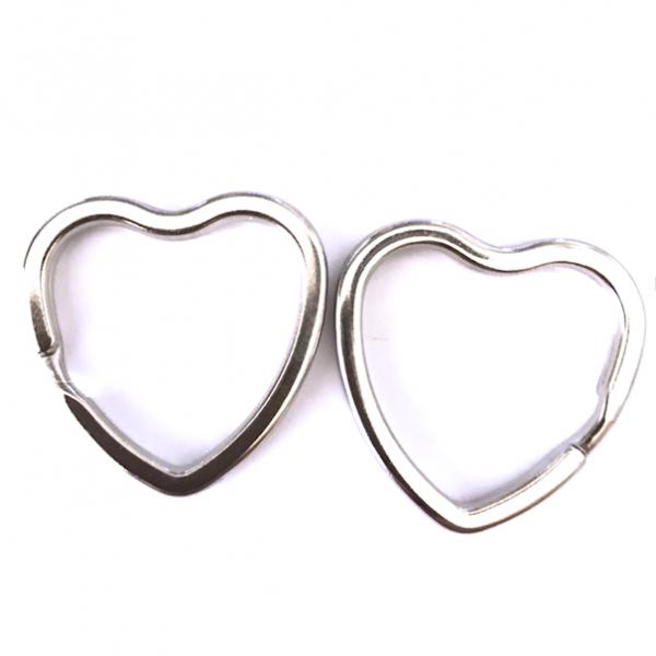 Schlüsselringe Herz, 2 Stück